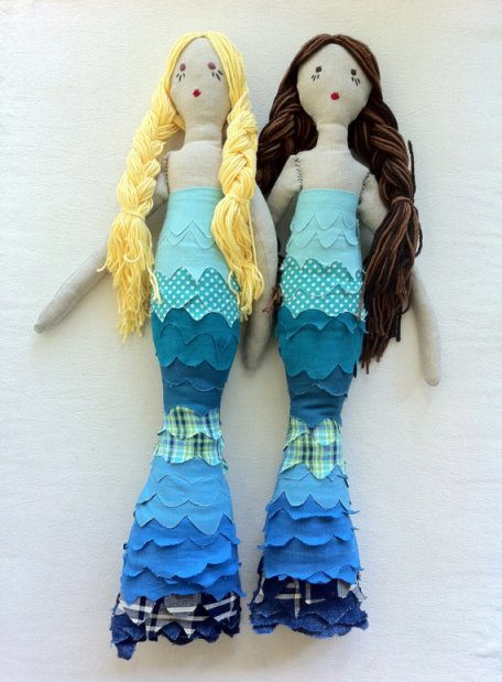 Mermaid Rag Dolls
