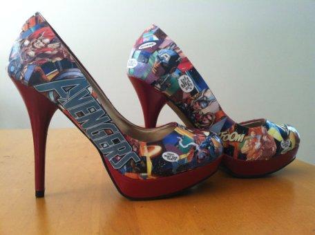 Comic High Heels