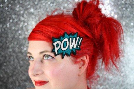 Pow hair clip