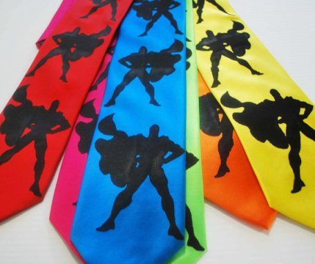 Superhero Ties