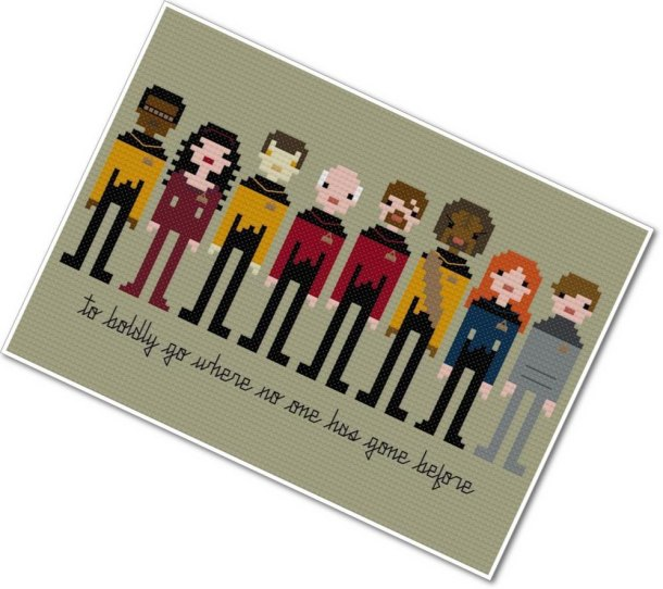 Star Trek Cross Stich Pattern