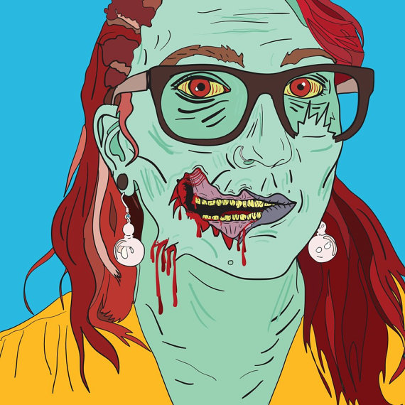 Want to see what you'd look like as a zombie? Allison Kolarik of ComicBookAfterlife does these aweseom portraits custom.