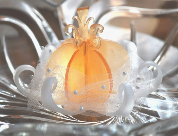 This soap is so dreamy and lovely I'd hesitate to use it! Enchanting Soap Favors makes them for fairy tale weddings, but I could use some enchanting in my every day.