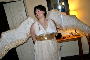 Costume Sunday – Valkyrie as an Angel