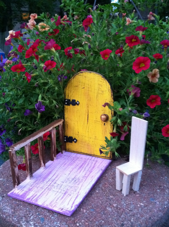 How about bringing in some fairy magic to your garden with this fairy door by Wooden BLING?