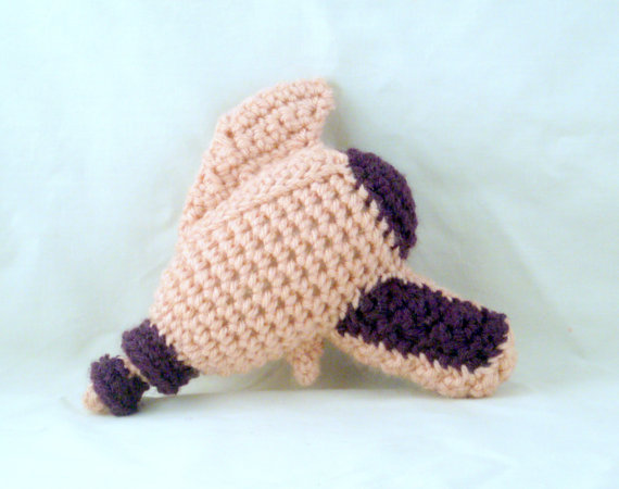 Who knew a ray gun could be so cute? Apparently Can Can Crochet did.