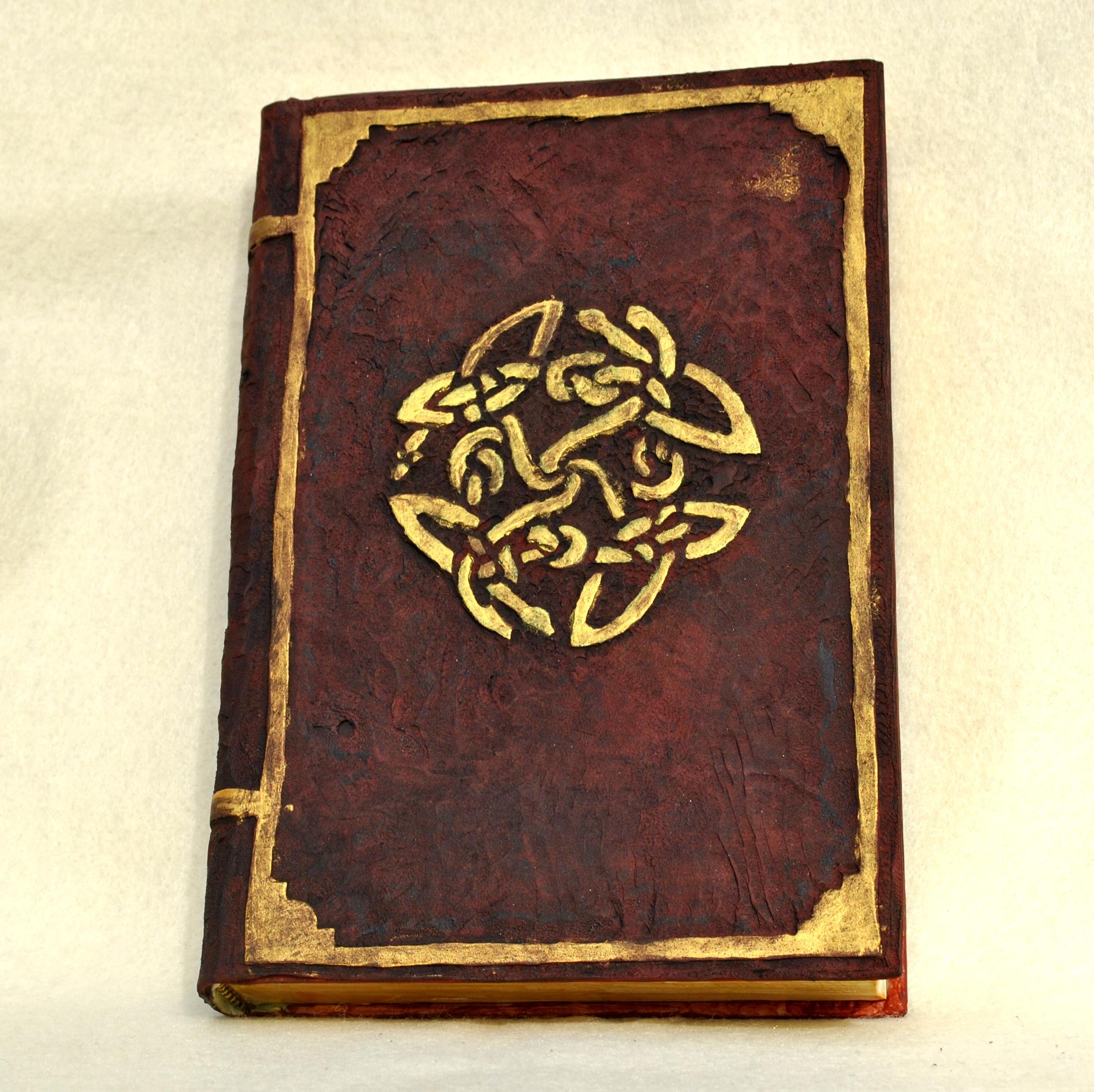 Old Book Leather Case ~ Fake old book safe wyrd cynthia the crafty geek