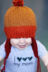 I admit it, I totally squeed when I found this Firefly inspired baby hat by MellowFury.